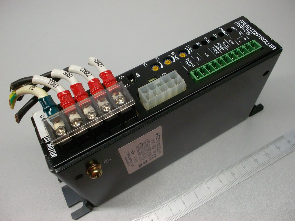 Speed controller, 200-230VAC 50Hz 1.4A, condition 95% /// 